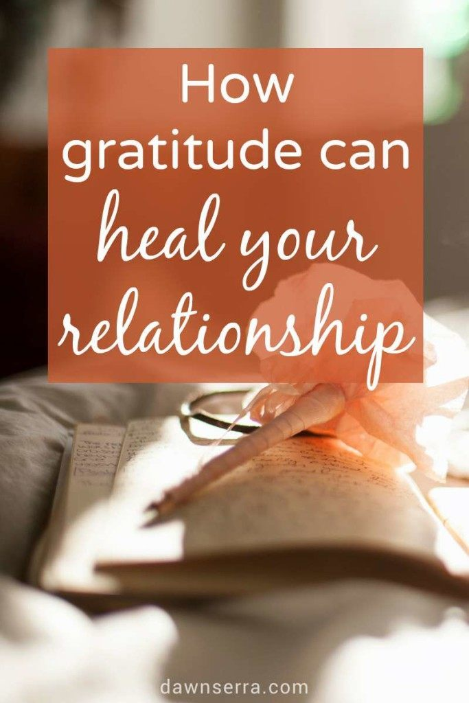 When you're irritated, frustrated, and fighting all of the time, it can be tough to see the good in your partner. That's why a gratitude practice can help heal your relationship - by encouraging you to focus on the things your partner does to support you and love you. It's easy. There's even a free worksheet to help you get started.