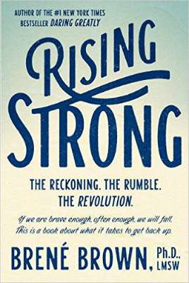 Rising Strong by Brene Brown is a powerful book on moving through vulnerability and tough situations, like the ones you're likely to encounter in a relationship.